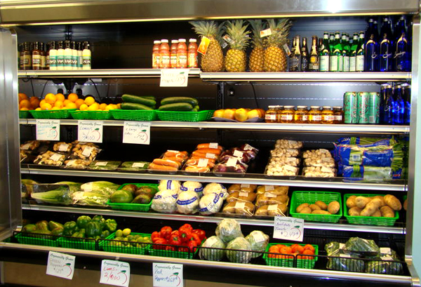 Fresh Produce Section